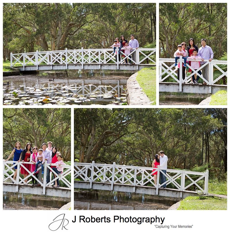 Extended Family Portait Photography Sydney for Visitors from Overseas at Centennial Park